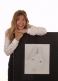 Sandra Behrbohm mit Siegerbild